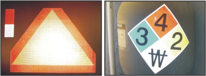 Señalamientos y avisos reflejantes