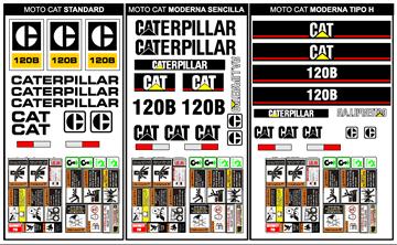 Motoconformadoras CAT