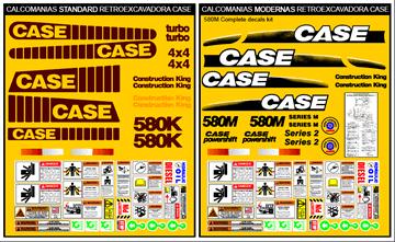 Retroexcavadora CASE
