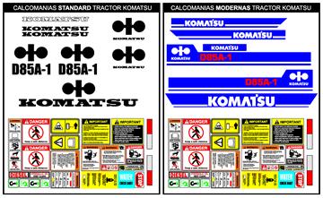 Tractores KOMATSU