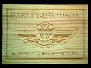 Ejemplo de grabado en madera