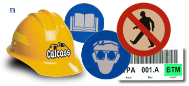 Etiquetas industriales y decorativas