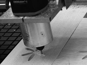 Proceso de grabado en madera