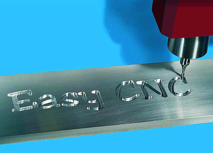 Ejemplo de grabado en aluminio